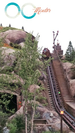Seven Dwarfs Mine Train Ride Hill