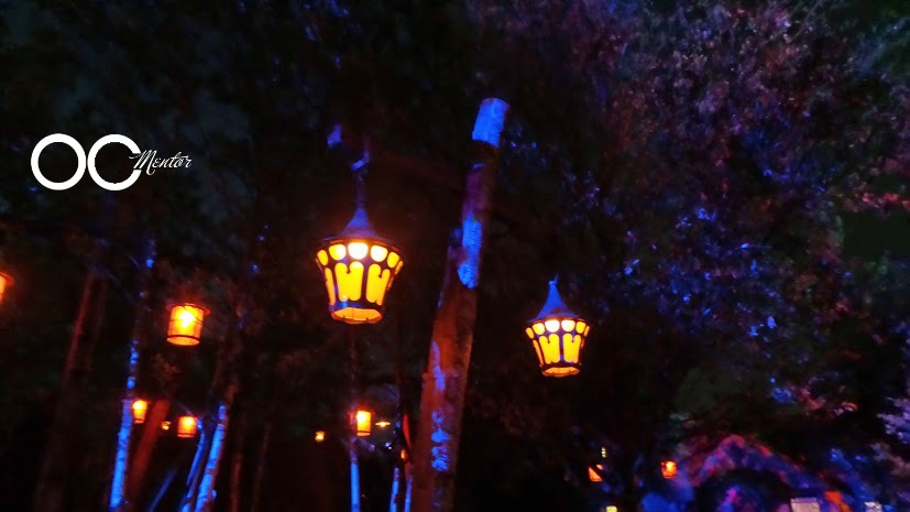 Seven Dwarfs Mine Train Ride Lights - OCMentor.com