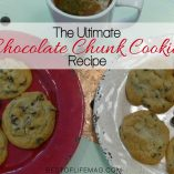 This famous chocolate chunk cookie recipe can also be made with chocolate chips if you are out of chunks and is guaranteed to be the best cookie recipe in your home. Cookie Recipes | Chocolate Recipes | Best Chocolate Chip Cookie Recipes | Cookie Recipes for Kids