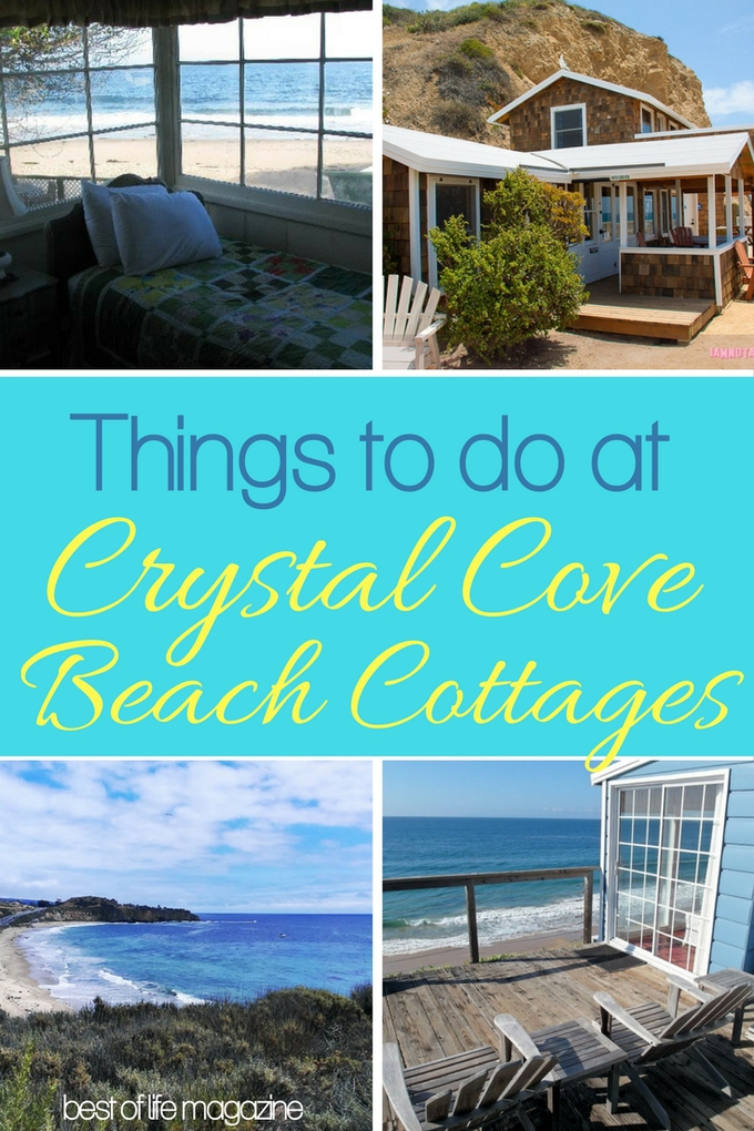 If you have a chance to stay at any of the Crystal Cove Beach Cottages here are some things you can do during your visit. via @amybarseghian