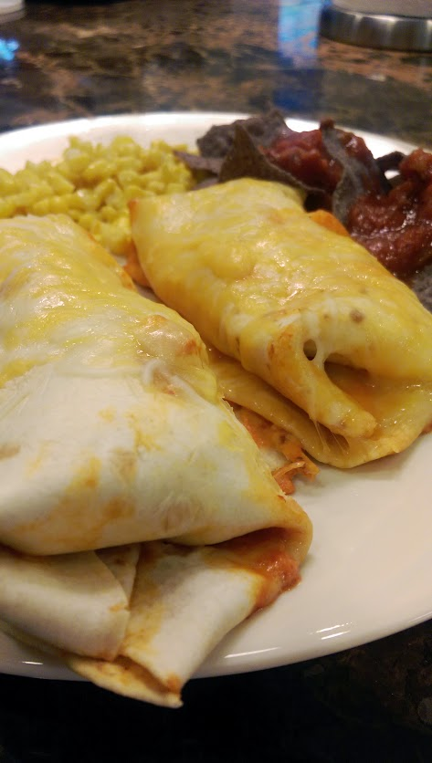 Homemade Chicken Enchiladas Recipe