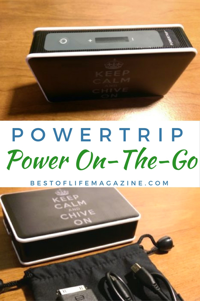 powertrip personalized portable charger review best of life magazine. Black Bedroom Furniture Sets. Home Design Ideas