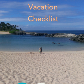 Travel Tips - Easy Family Vacation Checklist OCMentor.com