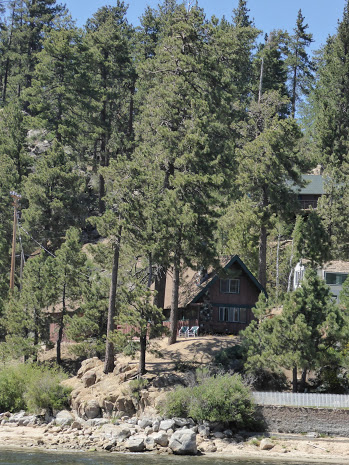 Here are some of the celebrity homes on Big Bear Lake that you will see on your interactive lake tour.