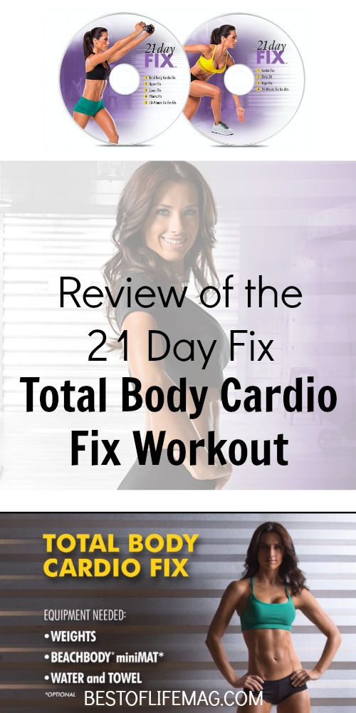 This 21 Day Fix workout review of the Total Body Cardio Fix workout will help you plan and make the most of the exercises. 21 Day Fix | 21 Day Fix Workout List | Beachbody Workout Reviews | Workouts for Women | Weight Loss Workouts | 21 Day Fix Reviews | Best At Home Workouts via @amybarseghian