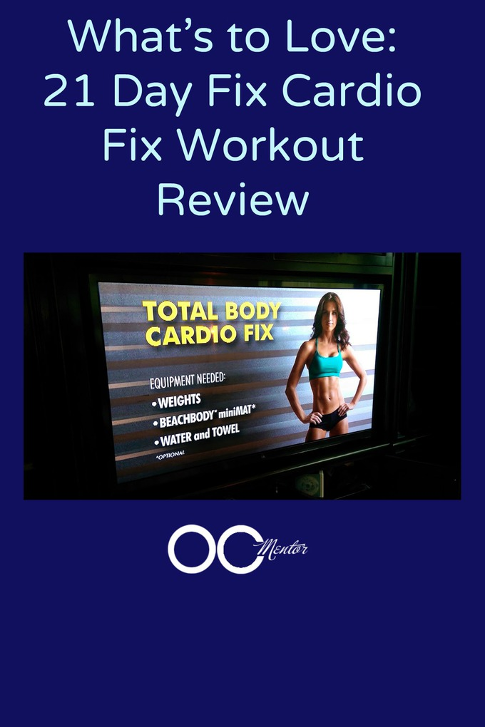 21 Day Fix Workout Review: Total Body Cardio Fix #21DayFix
