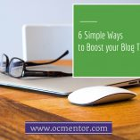 6 Simple Ways to Boost your Blog Traffic