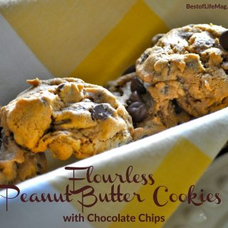 The ingredients for these easy flourless peanut butter cookies are simple and be sure to pull the family in to make baking a fun together time. How to Make Peanut Butter Cookies | How to Make Flourless Cookies | How to Make Chocolate Chip Cookies | Peanut Butter Cookies Recipe | Chocolate Chip Cookies Recipe