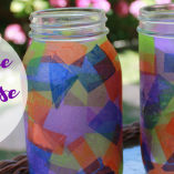 Not only was this DIY home decor craft easy, but it also was a neat way to offer a moment of pause in a very busy day. Offering your child a daily...