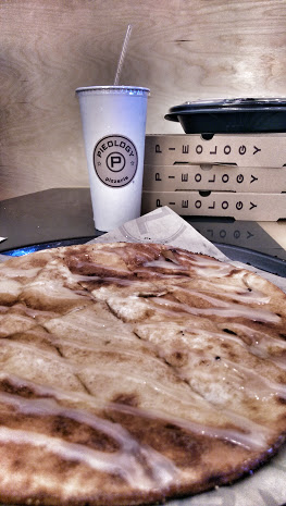 Pieology Pizzeria is a great spot for families not only for the amazing food but also for the inspiration that's written all over the walls.