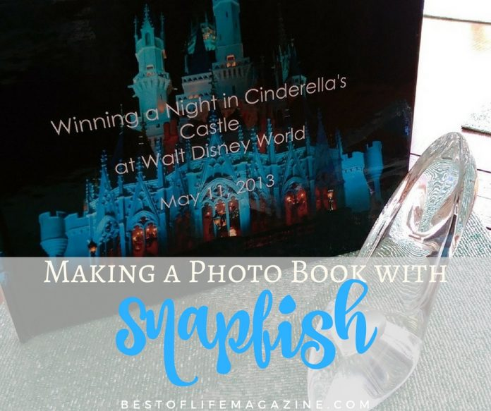 Making a Disney photo book with Snapfish.com is the perfect way to make sure the magic of our night in Cinderella's Castle never fades.