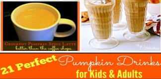 21 Perfect Pumpkin Drinks for Kids & Adults Featured