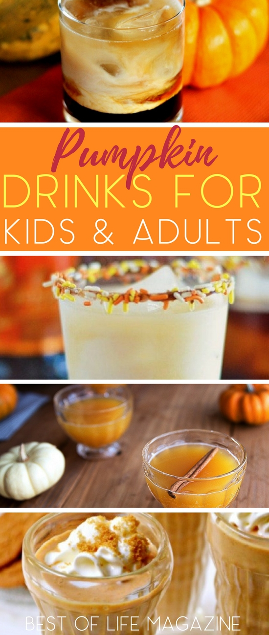 Pumpkin drinks are perfect to enjoy during the beautiful fall months and on Halloween with friends and family! Halloween Drinks with Alcohol | Halloween Drinks | Pumpkin Boozy Drinks | Boozy Drinks for Fall | Pumpkin Drink Recipes  via @amybarseghian