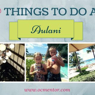 With this list of 30 things to do at Aulani Resort, kids and adults have plenty to do!