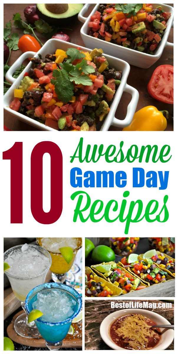 Regardless of what sport you enjoy watching, game day for any of them is always fun! These game day recipes are easy to make and will satisfy any taste bud!