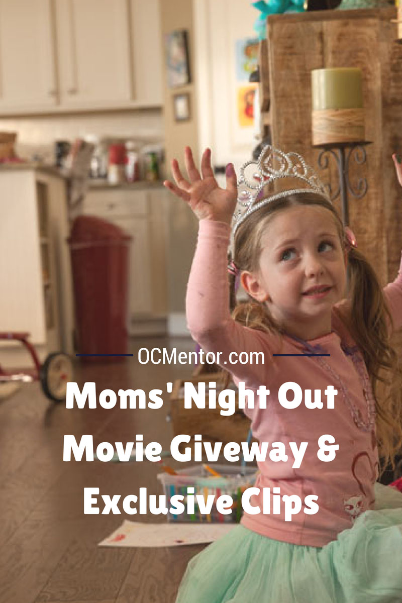 Moms' Night Out Movie is available TODAY on BluRay and Digital! Enter to win a copy here and see exclusive movie clips from Sony.