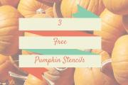 3 Free Pumpkin Stencils From Nintendo