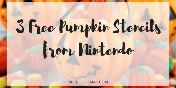 Bring Super Mario Bros. to your Halloween with these free pumpkin stencils from Nintendo. Simply print, tape, carve. Happy Halloween!