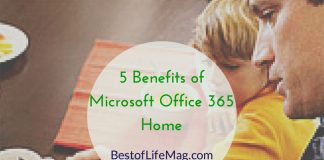 5 Benefits of Microsoft Office 365 Home