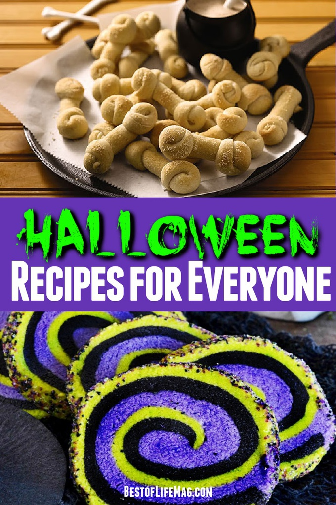 These Halloween recipes are freakishly awesome and sure to make the day fun for all ages! Halloween Party Ideas always help with party planning, too! Halloween Recipes for Kids | Spooky Recipes for Adults | Halloween Party Recipes | Free Halloween Recipes | Fun Halloween Recipes | Scary Recipes for Halloween | Fall Recipes | Halloween Party Ideas #halloween #recipes