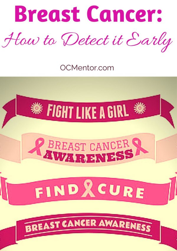 October is National Breast Cancer Awareness Month. How about we fight like a girl ALL year long with these early detection steps?