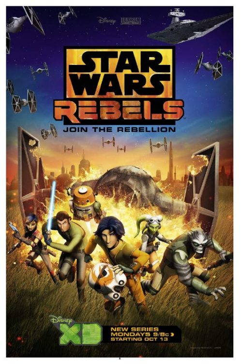 Star Wars Rebels embraces the epic tradition of the Star Wars saga; the cast of the new show brings a respect and passion for both old and new.