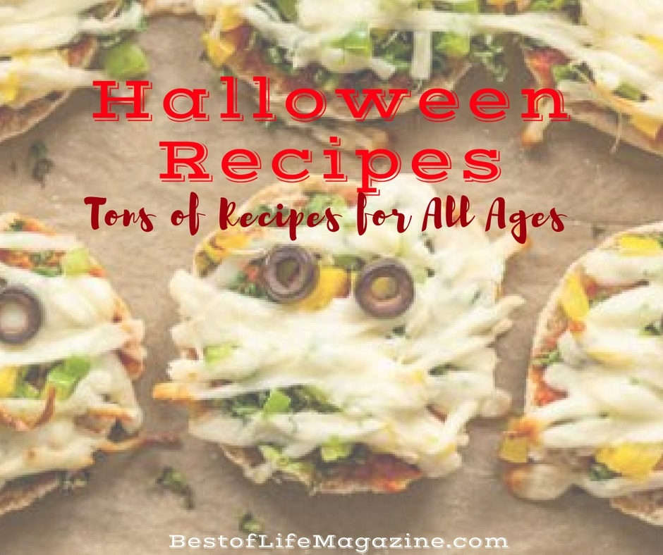 These Halloween recipes are freakishly awesome and sure to make the day fun for all ages! Halloween Party Ideas | Halloween Food | Spooky Food | Halloween Treats | Halloween Party Food for Kids | Halloween Food Ideas