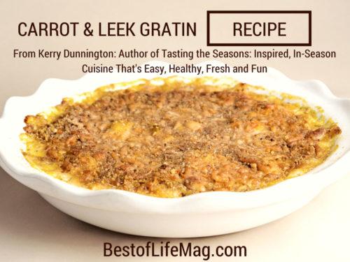 Carrot and Leek Gratin Recipe
