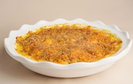 Carrot and Leek Gratin Recipe from Kerry Dunnington