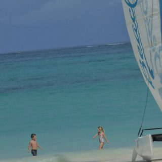 Playing in the Caribbean Waters at Beaches Turks and Caicos