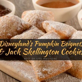 These fall recipes from Disneyland are perfect for Halloween and fall! Enjoy Pumpkin beignets Disneyland recipe and Jack Skellington cookies! Disneyland Recipes | Disneyland Cookie Recipe | Disneyland Cookies | Beignet Recipe | Beignet Recipe from Disneyland