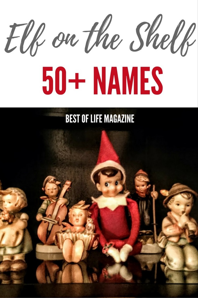 With so many great Elf on the Shelf names to choose from you can have fun with your family and find the perfect one for you!