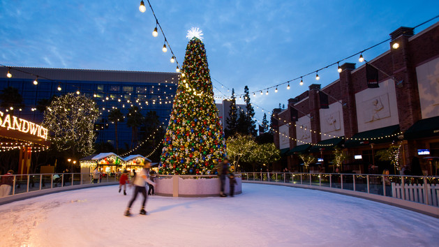 Olaf's Frozen Ice Rink - Photo Credit Disney