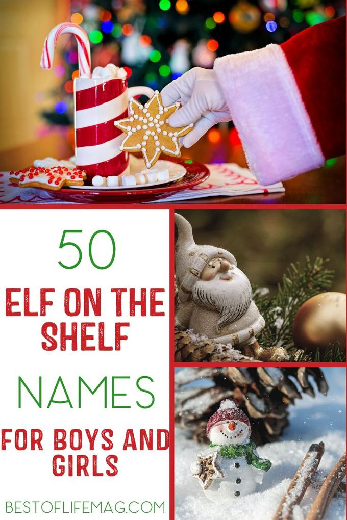 If you're new to the Elf on The Shelf holiday tradition, then you surely are in need of one of these Elf on The Shelf names.  Elf on the Shelf Ideas | Elf Names | Funny Elf Names | Introduce Elf on the Shelf via @amybarseghian
