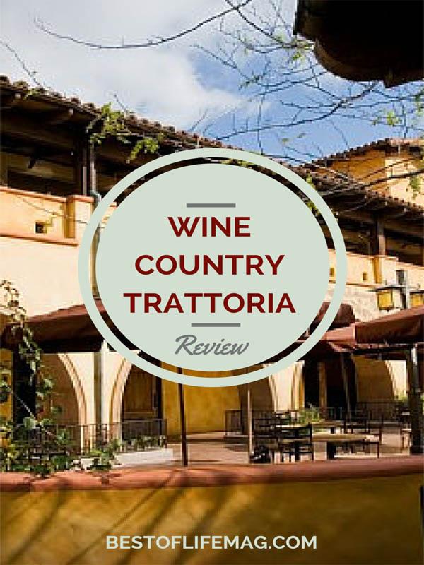 Wine Country Trattoria Review - Disney California Adventure Park