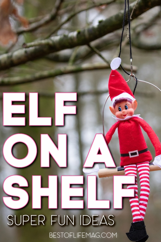 Make sure to add some of these funny Elf on a Shelf ideas into your Elf on the Shelf fun this holiday season! They are a hit with all ages. Hilarious Elf on the Shelf | Elf on The Shelf Ideas for Kids | Pranks with Elf on the Shelf | Elf on the Shelf Ideas for Adults | Holiday Pranks for Kids | Tips for Elf on a Shelf #elfontheshelf #holidays