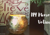 """Are you looking for a simple, yet memorable craft to create as a family? This """"Memorial Candle"""" is something that your family will cherish year round."""