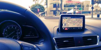 In Dash Navigation on 2015 Mazda Cars