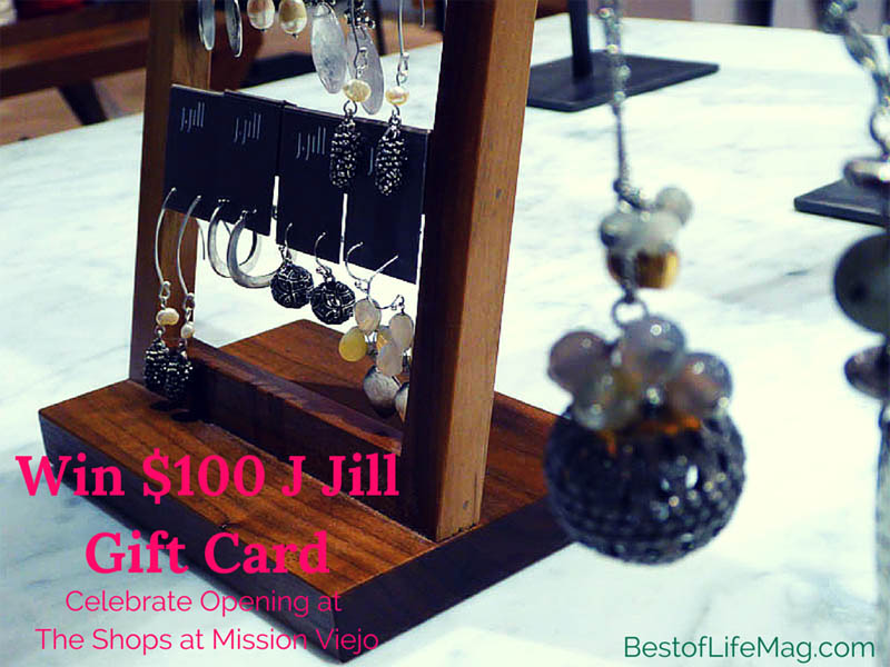 100 j jill gift card giveaway open at shops at mission for Jewelry store mission viejo