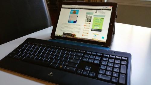 Logitech Wireless Keyboard Surface Pro 3 Accessories