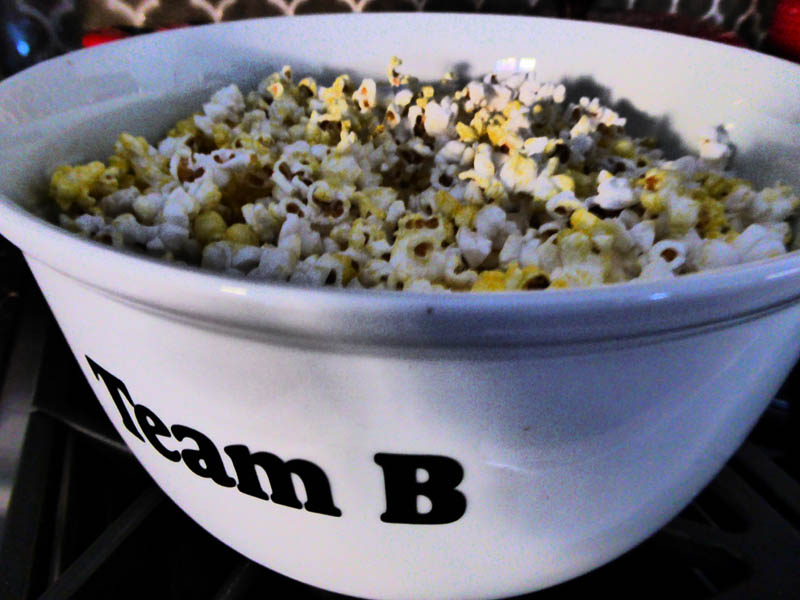 Personalized Popcorn Bowl from GiftsforyouNow