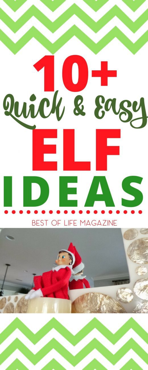 Easy Elf on The Shelf ideas keep kids excited and are perfect for those mornings when elf helpers are short on time. Elf on the Shelf Easy | Easy Elf Ideas | Quick Elf Ideas | Elf on the Shelf Ideas No Time  via @amybarseghian