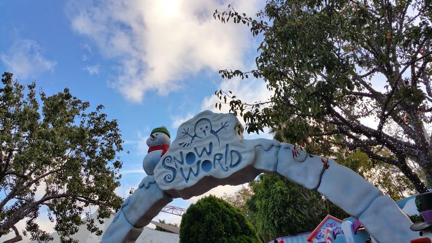 Snow World at SeaWorld San Diego