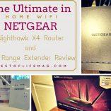 Ultimate Home WiFi with Netgear Nighthawk X4 Router & WiFi Range Extender
