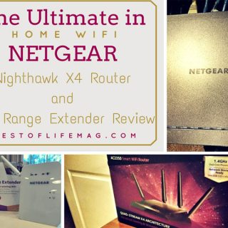Ultimate Home WiFi with Netgear Nighthawk X4 Router & WiFi Range Extender