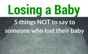 What NOT to Say to Someone Who Lost a Baby
