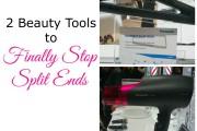 2 Beauty Tools to Stop Split Ends #PanasonicBeauty