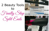 2 Beauty Tools to Stop Split Ends #PanasonicBeauty