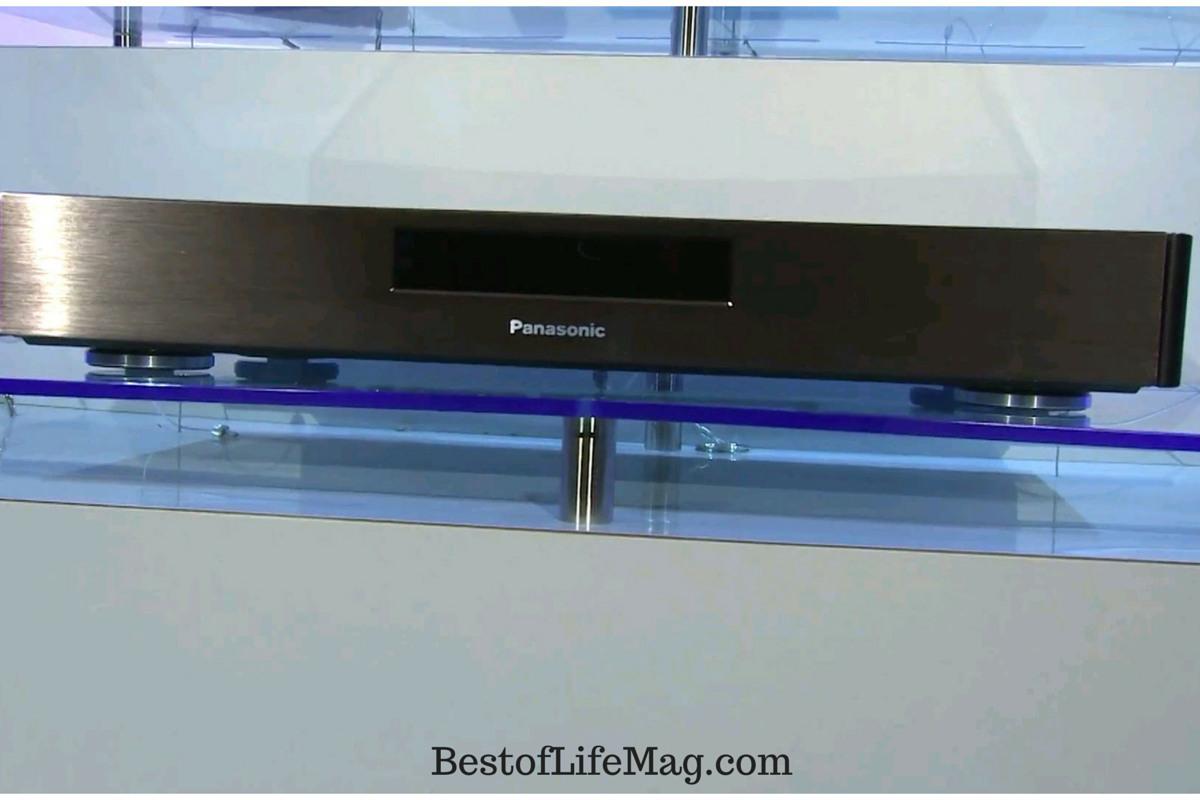 Panasonic 4K BluRay Player