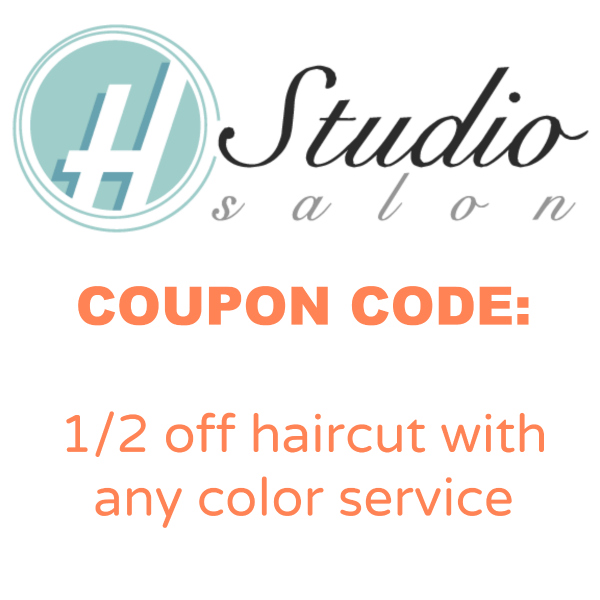 H Studio Salon Coupon